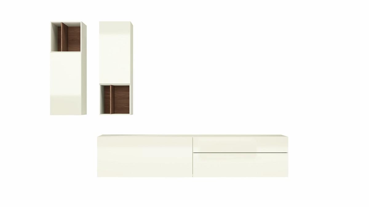 Die hülsta NOW! VISION Wohnwand #990011 kann individuell nach Deinen Design-Wünschen produziert werden.