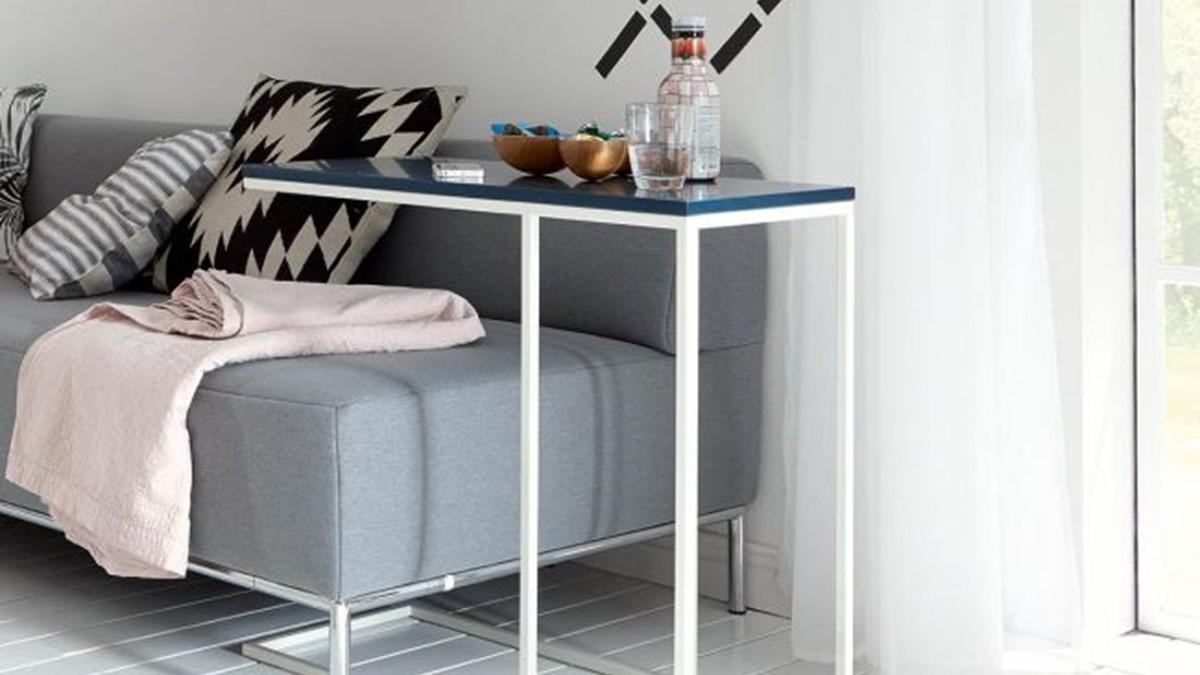 Dieser NOW! Sofa-Beistelltisch kann Dein neuer Assisstent im Home-Office sein.